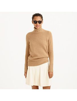 italian-cashmere-chunky-turtleneck-sweater by jcrew