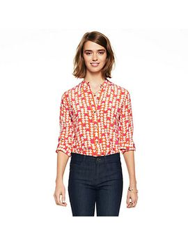 Silk Hearts Printed Shirt by Cwonder