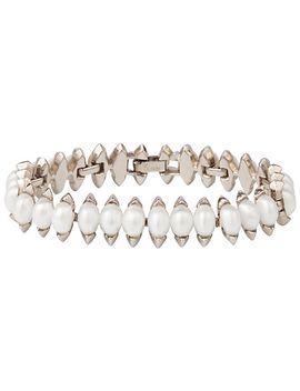 susan-caplan-vintage-bridal-1940s-trifari-silver-plated-faux-pearl-bracelet,-silver_pearl by susan-caplan-vintage-bridal