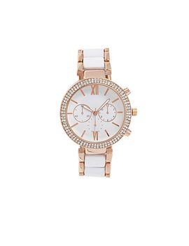 two-tone-chronograph-watch by forever-21
