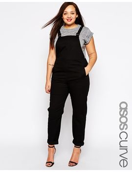 asos-curve-90s-style-dungarees by asos-curve