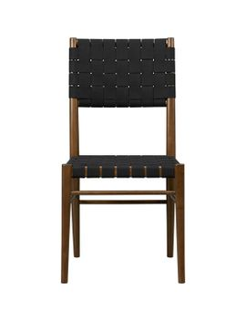 oslo-black-side-chair by crate&barrel