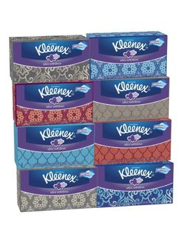 kleenex-ultra-soft-tissues,-white,-120ct,-pack-of-8 by kleenex