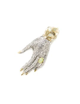 pave-crystal-embellished-hand-brooch by alexis-bittar