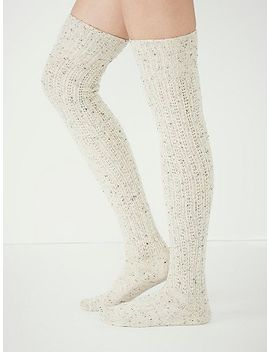 speckled-slouch-tall-sock by free-people