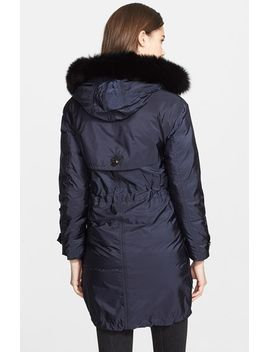 tallingford-genuine-fox-fur-trim-parka by burberry-brit
