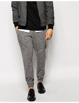asos-skinny-fit-smart-joggers-in-brushed-jersey by asos