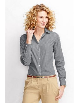 womens-long-sleeve-no-iron-shirt by lands-end