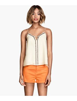 short-twill-shorts by h&m