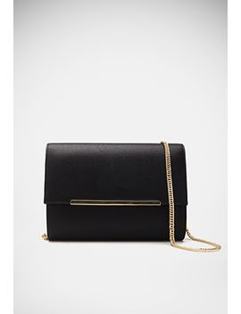 pebbled-faux-leather-crossbody by forever-21