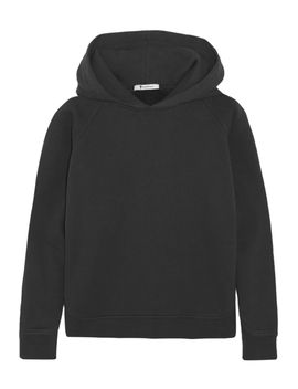 vintage-cotton-blend-hooded-top by t-by-alexander-wang