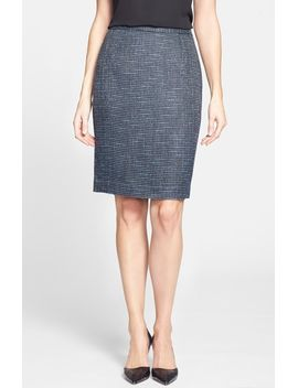 seamed-pencil-skirt by halogen®