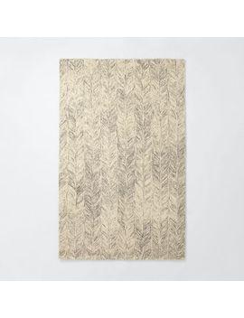vines-wool-rug---neutral by west-elm
