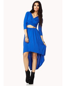 fancy-draped-cutout-dress by forever-21