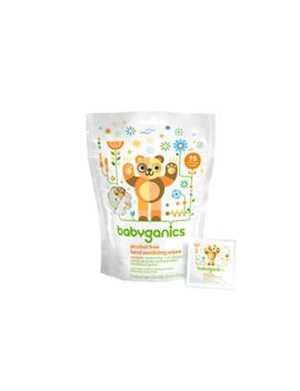 babyganics-alcohol-free-hand-sanitizing-wipes,-mandarin,-75-on-the-go-wipes,-packaging-may-vary by babyganics