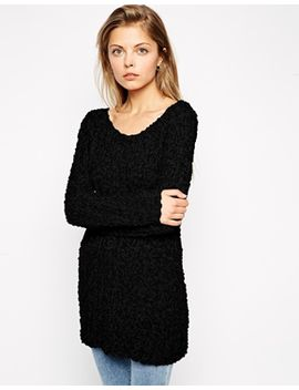 asos-slouch-sweater-in-textured-knit by asos-collection