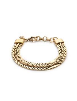 double-chain-bracelet by jcrew