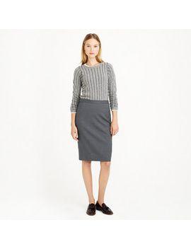 pencil-skirt-in-super-120s-wool by jcrew