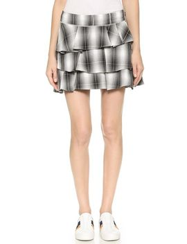 plaid-ruffle-skirt by derek-lam-10-crosby