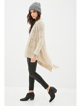 asymmetric-open-knit-cardigan by forever-21