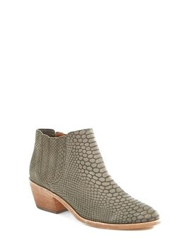 barlow-snake-embossed-leather-bootie by joie