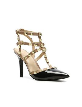 darron-two-tone-patent-pump by bcbgeneration