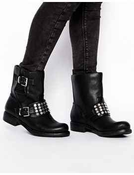 asos-air-force-biker-boots by asos-collection