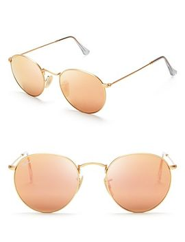 round-mirror-sunglasses,-50mm by ray-ban