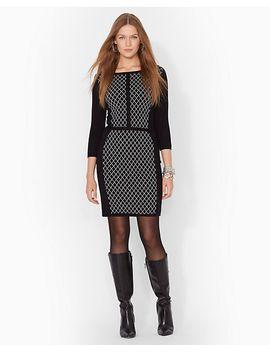 cotton-sweater-dress by ralph-lauren
