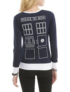 doctor-who-her-universe-union-jack-tardis-cardigan by hot-topic