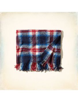cozy-plaid-blanket by hollister