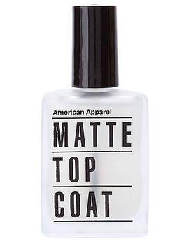 matte-top-coat-nail-polish by american-apparel
