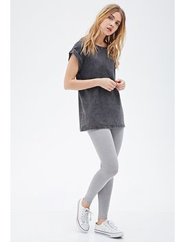 thermal-knit-leggings by forever-21