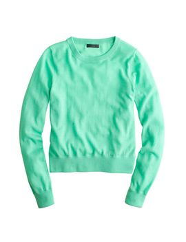 merino-wool-crewneck-sweater by jcrew