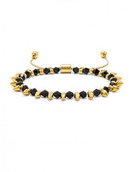 onyx-spike-pull-bracelet by baublebar