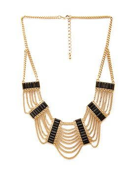 chained-deco-necklace by forever-21