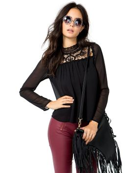 lace-luxe-blouse by agaci