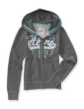 aero-script-full-zip-hoodie by aeropostale