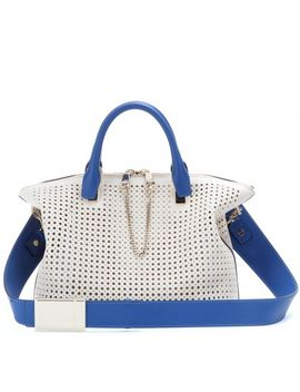 baylee-small-perforated-leather-tote by chloé