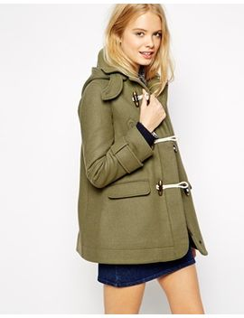 asos-duffle-coat-with-swing-shape-in-wool-twill by asos