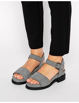 asos-fletcher-two-part-footbed-sandals by asos-collection