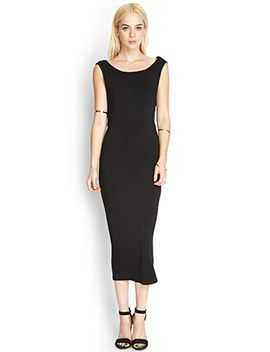 caged-back-midi-dress by forever-21