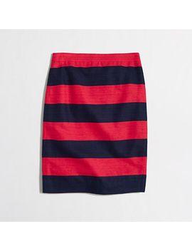 pencil-skirt-in-stripe by jcrew