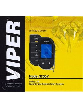 viper-5706v-2-way-car-security-with-remote-start-system by viper