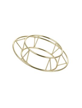 circle-outline-cuff by topshop