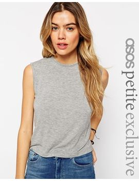 asos-petite-forever-sleeveless-tank-top by asos