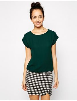 new-look-woven-cropped-t-shirt by new-look