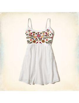 floral-skater-dress by hollister