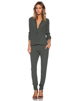 crepe-long-sleeve-jumpsuit by monrow