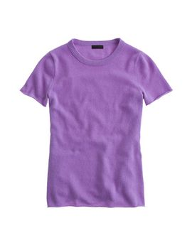 italian-cashmere-t-shirt by jcrew